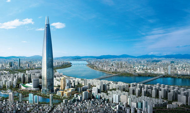 Проект Lotte World Tower 2016