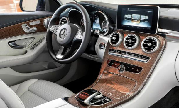 Интерьер Mercedes Benz GLC